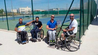 Tenis adaptado Granada Integra