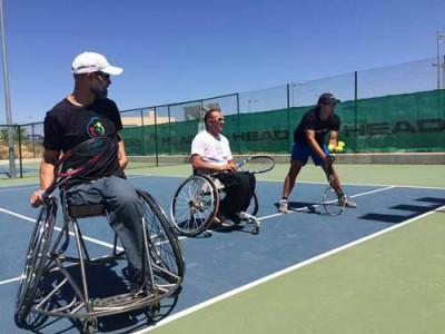 Clases tenis adaptado