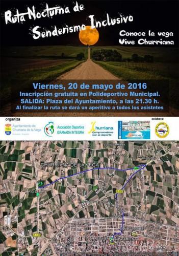 Ruta nocturna Churriana de la Vega