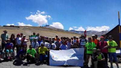 Senderismo adaptado en Sierra Nevada 2016