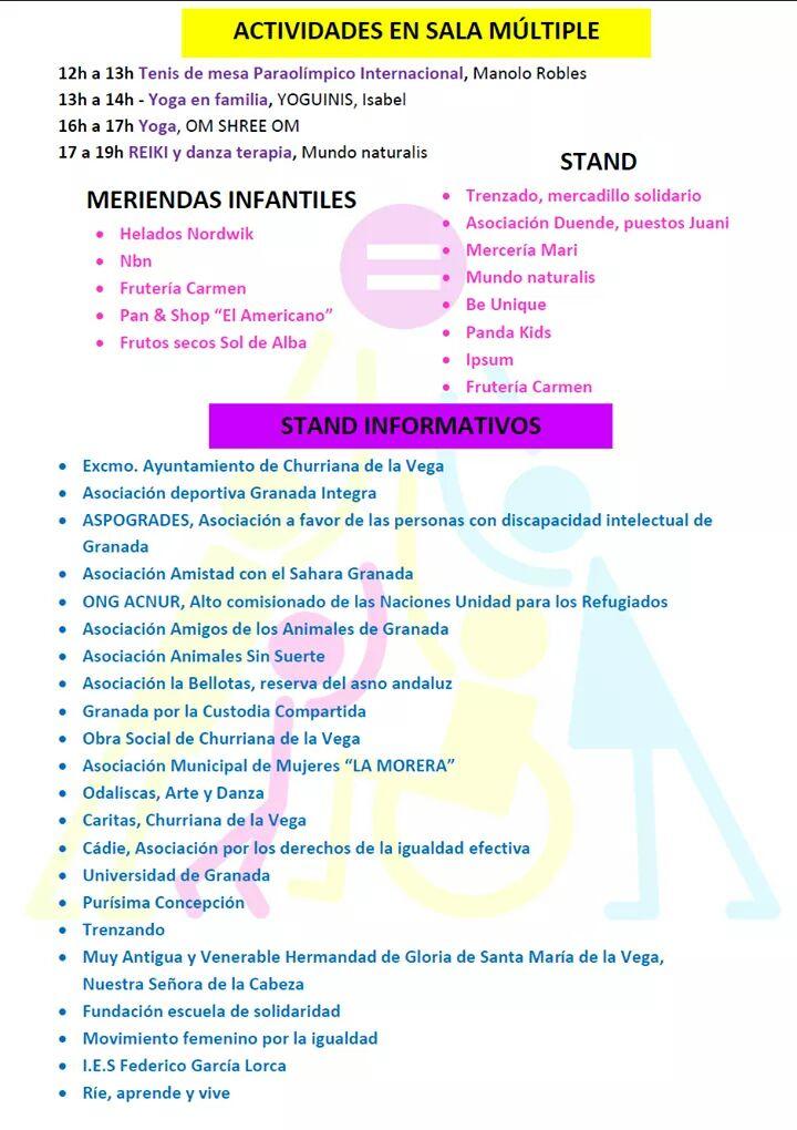 III Jornadas por la Igualdad Granada Integra